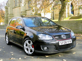 2008 08 Volkswagen Golf 2.0T FSI 200PS 2008MY GTi WITH LEATHER+SUNROOF+P/SENSORS