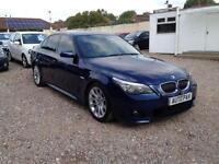 2007 07 BMW 5 SERIES 3.0 525I M SPORT 4D AUTO 215 BHP