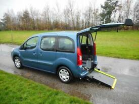 2010 Peugeot Partner Tepee 1.6HD, Diesel, Manual. WHEELCHAIR ACCESSIBLE WAV