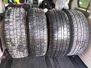 235 70 16 winter tires on rims