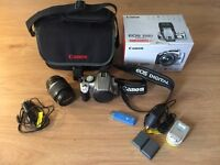 Canon EOS 350D Digital Camera and accessories c/w Canon 18-55mm lens.
