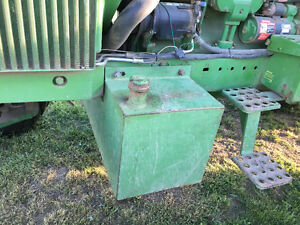 John Deere belly tank and weights