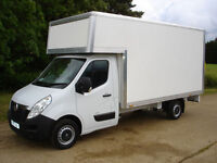 removal luton van with tail lift/ man and van from £15/hr , van hire/ house move/ delivery