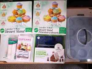 Baking supplies, cupcake stand, cupcake carrier
