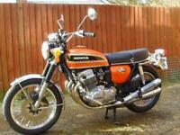 Honda CB750k4 1974 Beautiful original condition Classic bike 14,195 Miles