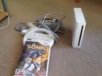 Nintendo wii with game