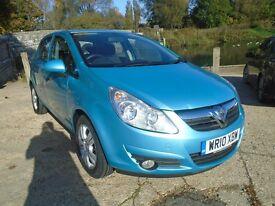Vauxhall Corsa 1.2I 16V ENERGY 85PS (blue) 2010