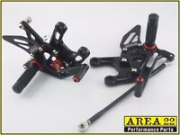 Motorcycle Rearsets rear set foot controls Suzuki Honda Yamaha BMW Kawasaki