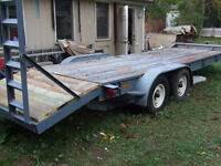 car hauler / utility trailer
