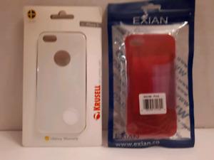 Plusieurs étuis neuves iPhone 5/5S/SE