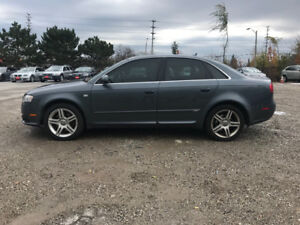 2008 Audi A4 S Line Leather Sunroof Top of the line