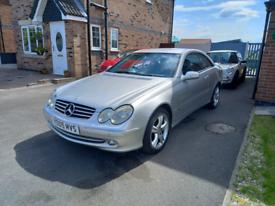 Mercedes Benz CLK240 v6 petrol