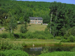PRIVATE RURAL SETTING! LOCATED 45 MINUTES TO MONCTON OR ST JOHN