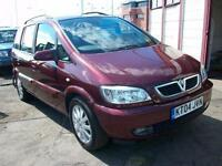 Vauxhall/Opel Zafira 1.8i 16v 2003.5MY Elegance