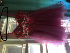 Exotic coloured grad dress or festival dress- Only worn once
