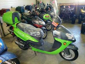 New SAGA Quest 49cc Gas Scooter/Moped on January SUPER SALE Now! Edmonton Edmonton Area image 1