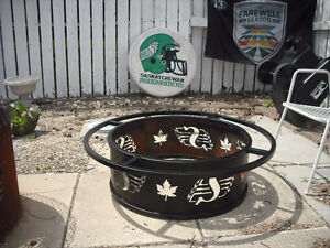 LIKE NEW ... RIDER PRIDE ... FIRE PIT