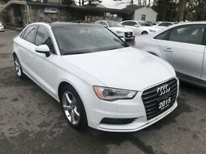 2015 Audi A3 2.0 TDI Komfort ACCIDENT FREE | ONE OWNER | ALLO...