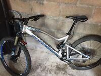 Mondraker factor rr mountain bike £1300 Ono