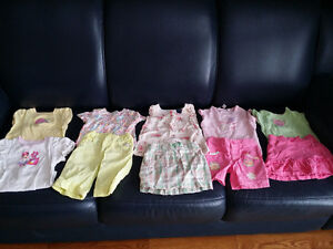 Size 2T / 24 months Girls Spring/Summer Bundle - Like New