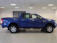 2015 Ford Ranger Pick Up Double Cab Limited 2.2 TDCi 150 4WD Diesel blue Manual