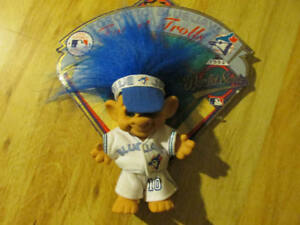 TORONTO BLUE JAYS Forest Troll Doll Toy Baseball World Series