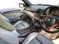 2002 02 reg BMW X5 4.4i v8 auto Sport + AC Scnitzer Body Styling Kit + Sat NAV