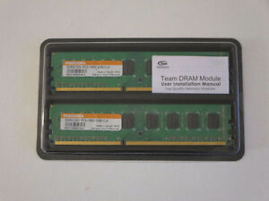 2x2GB - 4GB RAM DDR3 for desktop! Like New Tested!