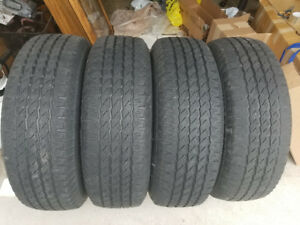 235/70-16 Michelin Snow/Winter Tires (4)