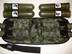 Paintball 4x pod pack and CADPAT carrier