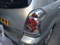 Toyota corolla verso 2004 rear light brake light tail light
