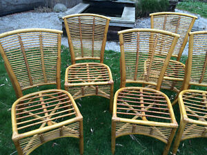Rattan chairs for sale London Ontario image 2