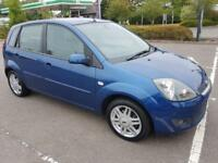 Ford Fiesta 1.4 Ghia 5dr Hatchback, Low Mileage, Leather Seats, Air Con, Alloys