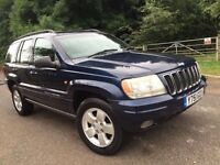 Jeep Grand cherokee 4.0 Petrol Automatic Limited 1 Former Owner