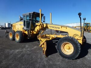 LOW HOUR 2004 Volvo G720B motor Grader with Ripper