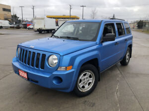 2008 Jeep Patriot, 4 Door, Automatic, Low km, warranty available