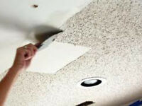 ✔PAINTING - POPCORN CEILING REMOVAL /TEXTURE SMOOTH FINISH