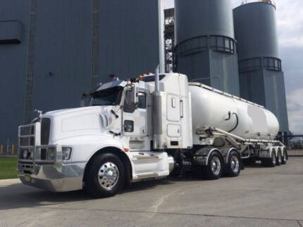 CEMENT TANKER TRUCK EVERGREEN CONTRACT