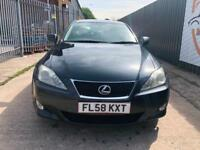 LEXUS IS 220D 2.2 175 DIESEL SALOON DRIVES VERY GOOD