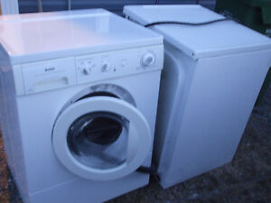 Kenmore front loading, stackable Washer & Dryer