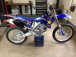 Yamaha YZ250f with ownership, low hours