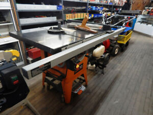 ridgid granite top table saw at the 689r new and used tool store