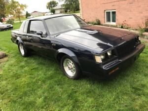 1987 BUICK REGAL TURBO LIMITED GNX TRIBUTE HUGE TURBO MUST SEE