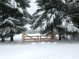 Land  for sale in the village of Ulverton Quebec