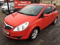 2009 (59) VAUXHALL CORSA ACTIVE, 70000, 1 YEAR MOT, WARRANTY