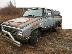 Parting out Ramcharger