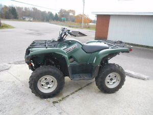 YAMAHA GRIZZLY 700 GREEN