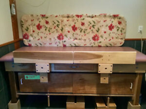 Solid Wood Adult Special Needs Change Table