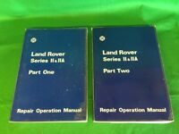 Landrovers Series 2 ORIGINAL workshop manual. STALHAM. CAN POST