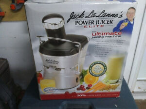Jack La Lannes Power juicer elite never used